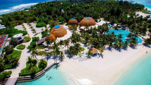 Holiday Inn Kandooma, a, South Male Atoll.