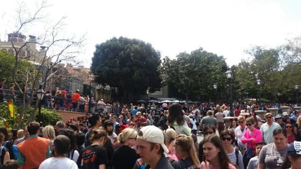 Nobody does queues like Disneyland.