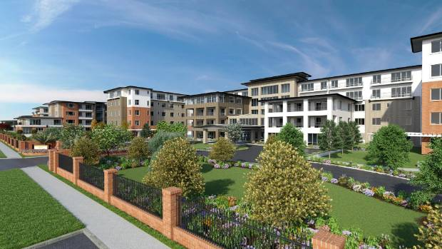 An artist's impression of Ryman's new Brandon Park village which will be built in Melbourne.