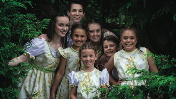 The Strudels group of von Trapp children.