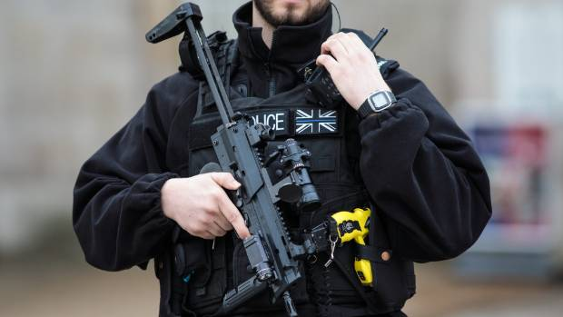 Woman shot and injured as police foil active terror plot