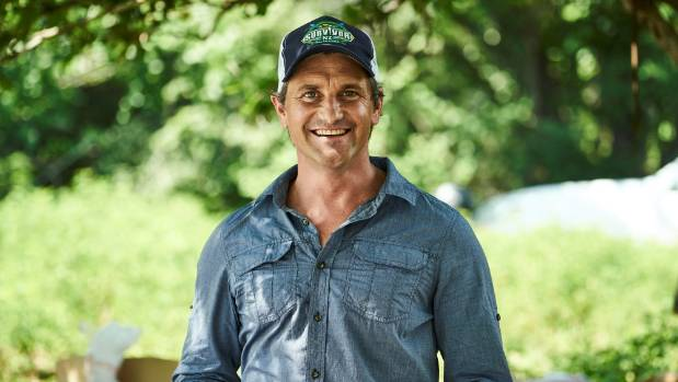 Matt Chisholm in his role as Survivor New Zealand host.