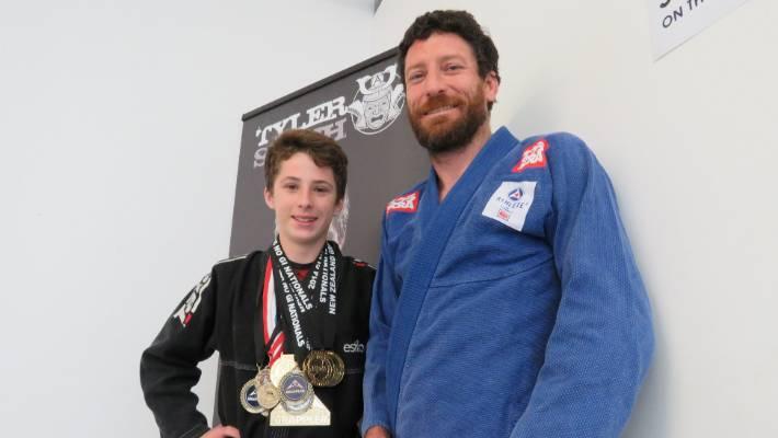 Teen to world Brazilian Jiu Jitsu champs | Stuff co nz