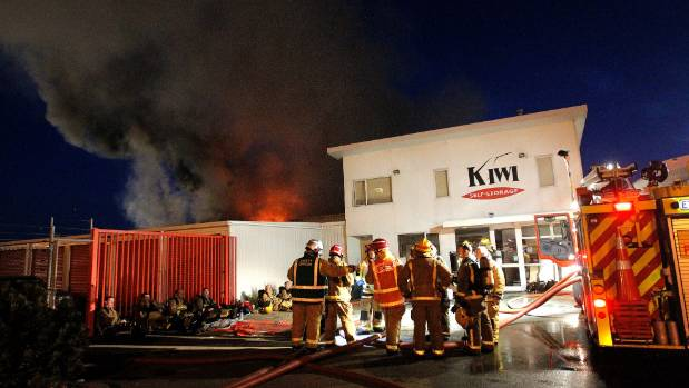 The section of the facility where Davis' goods were stored was the recently rebuilt section following an arson that saw ...