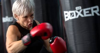 Suzie Johnson will make her boxing debut in the Battle of the Belts on May 5.