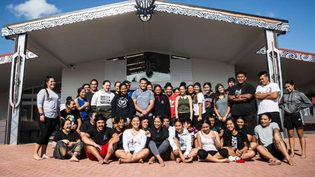 Te Wharekura o Rakaumangamanga has 450 students, from years one - 13.