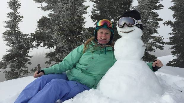 Kirsten Mills has been living in the ski resort town of Whistler for nearly two years.