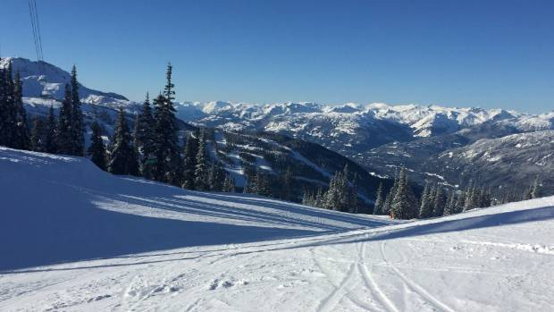 "Living in Whistler is ""definitely a lifestyle choice"", says Kirsten Mills."
