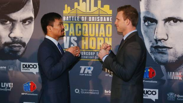 Manny Pacquiao and Jeff Horn will fight in July.