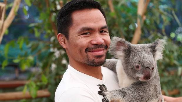Manny Pacquiao has been in Australia promoting his upcoming fight with Jeff Horn.