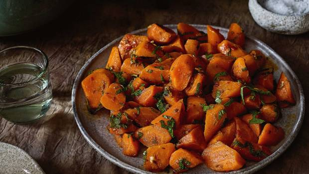 Warm or cold, this Moroccan-style carrot salad is the perfect side dish.