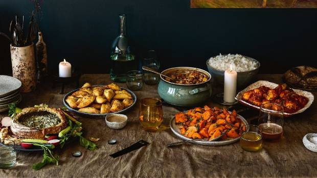 No matter how you look at it, this is a feast for serious potluckers.