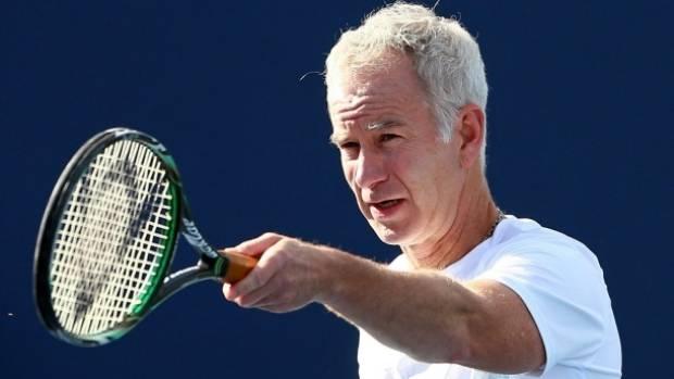 Former American tennis ace John McEnroe.