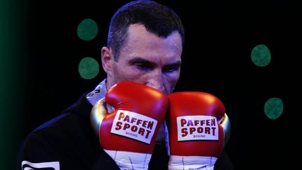 British boxing star Joshua stops Klitschko