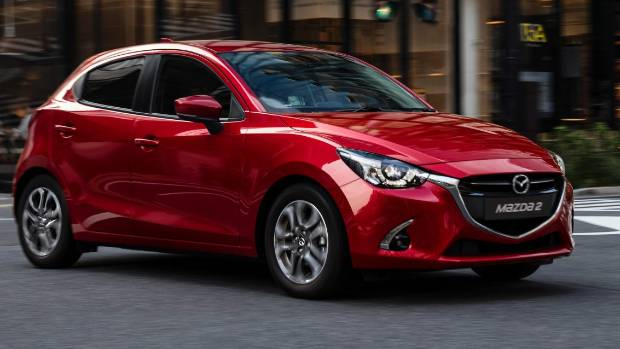 The Mazda2 small hatch has had some small changes made to its exterior.