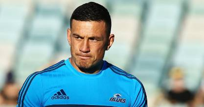Sonny Bill Williams started at second five-eighth for the Blues.