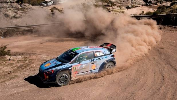 The Kiwi rally star and his new co-driver Sebastian Marshall have started their WRC partnership in pleasing fashion.