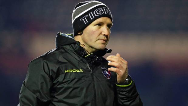 Newly signed assistant coach Aaron Mauger was spotted at Highlanders training on Tuesday.