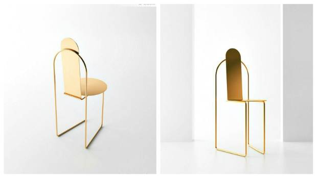 The austere form of the 'Pudica' chair was inspired by the Jesuit monks that colonised Brazil in the 17th century.