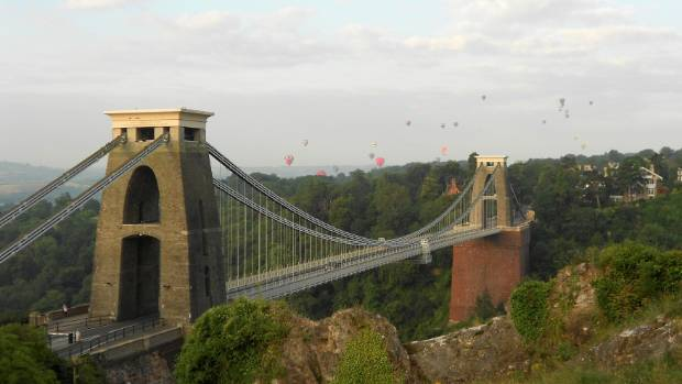The Clifton Suspension Bridge is a bit of an engineering marvel.