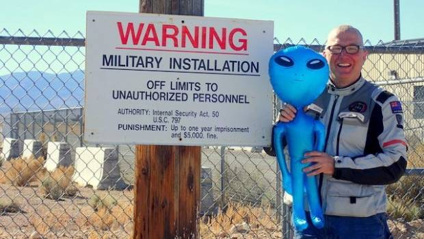 There have been countless reports of UFO sitings at the mysterious Area 51 military base.