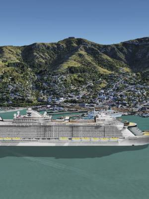 Christchurch is to get its first custom-built cruise ship berth with this image of the proposed $56m facility released ...