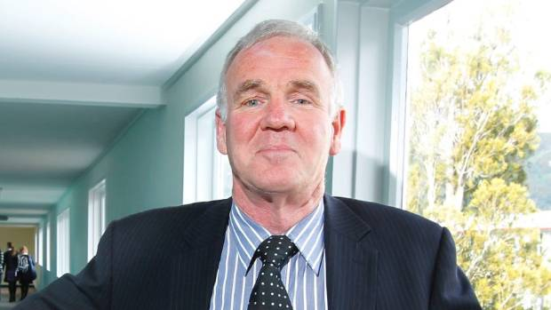 Former principal of Naenae College John Russell, who was succeeded by Richards in February.