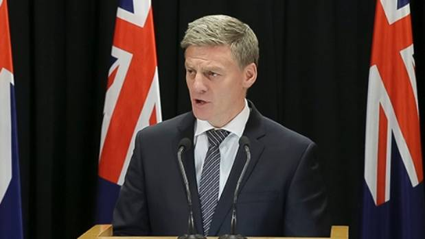 "PM Bill English announces the funding as part of a ""social investment"" package."