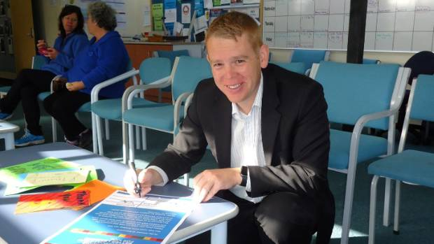 Labour education spokesman Chris Hipkins in March signed the party up to an NZEI's push for more ECE funding.