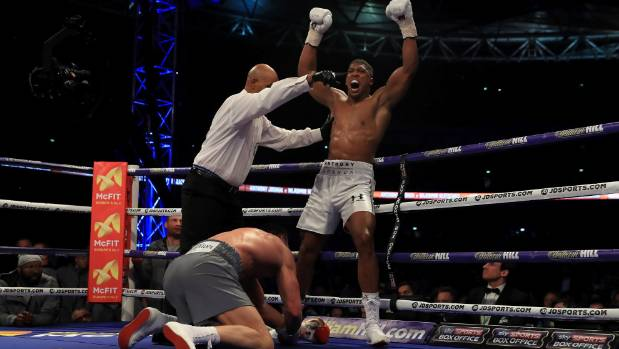'We want Parker' - Anthony Joshua's promoter talks up heavyweight title super fight