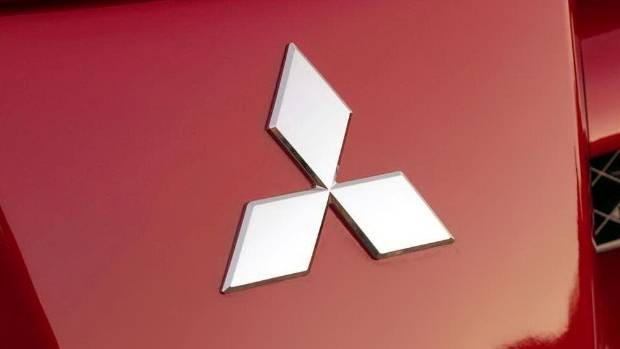 "Mitsubishi branding is often referred to as ""three diamonds"". Ah, that old chestnut."