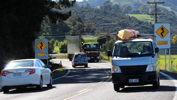 There has been an increase in crashes on the Kopu Hikuai Rd, near Thames.