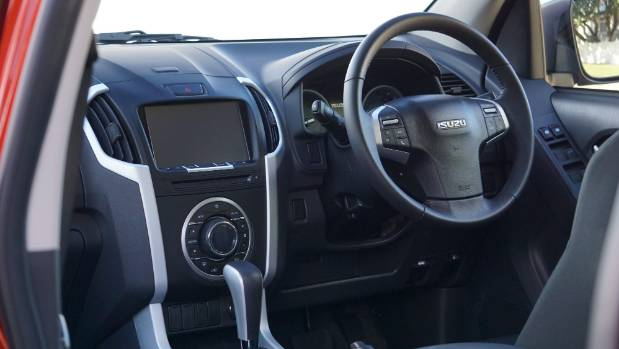 Cabin is well-built but trim is basic. Revised model gets new instruments, larger touch-screen.