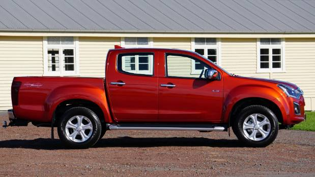 This one's a double, but D-Max comes in three different cab-configurations.