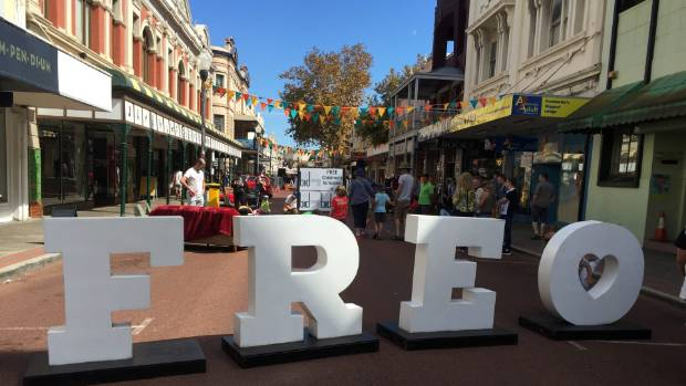 Fremantle's streets were closed off for the four day International Street Arts Festival.