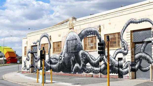 Street art and sculptures add to Freo's artsy vibe.