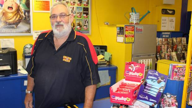 United Video Otaki co-owner Geoff Carre says he tries to say hello, goodbye and thank you in te reo as much as he can to ...