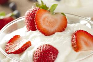 One of the most touted health benefits of Greek yogurt is the probiotics it contains.