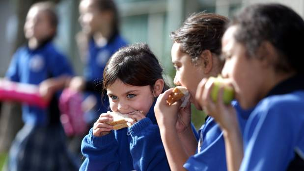 Timaru South School principal Mike Hogan they try very hard to enocurage parents to give their children healthy lunches. ...