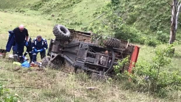 Girl, 4, hailed as hero after Taree mum's quad crash