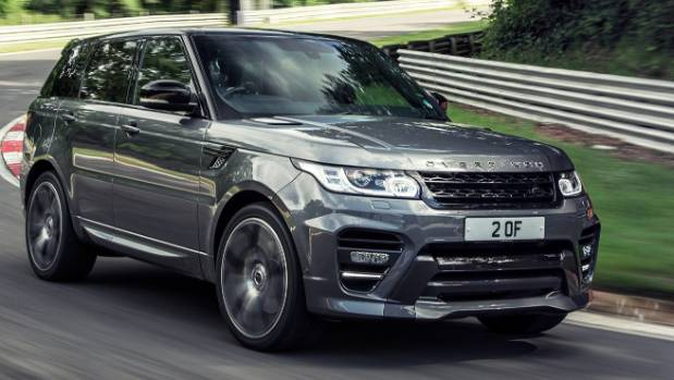 Manchester United's Wayne Rooney has a Overfinch Range Rover Sport among his luxury vehicle collection.