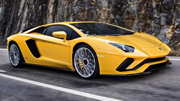 Manchester United's Sergio Aguero luxury drive is a Lamborghini Aventador.