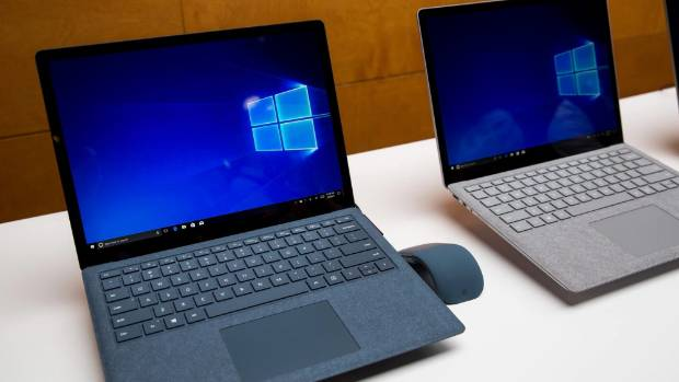 The new Surface Laptop is aimed at students and features a new version of Windows.