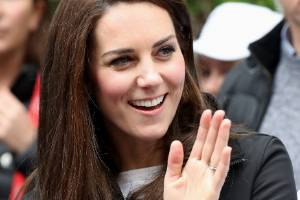 How to get that Duchess of Cambridge glow? Just wash your face with a flannel.
