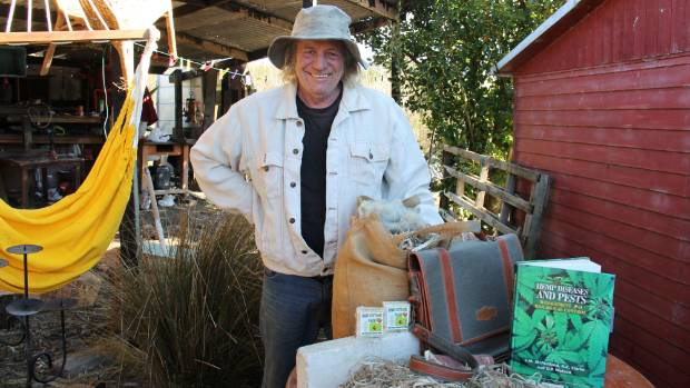 New Zealand Industrial Hemp Association chairman Mack McIntosh says the Government should have included leaves and ...