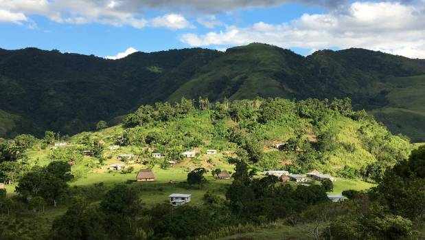 The Nabutautau Village in Fiji.