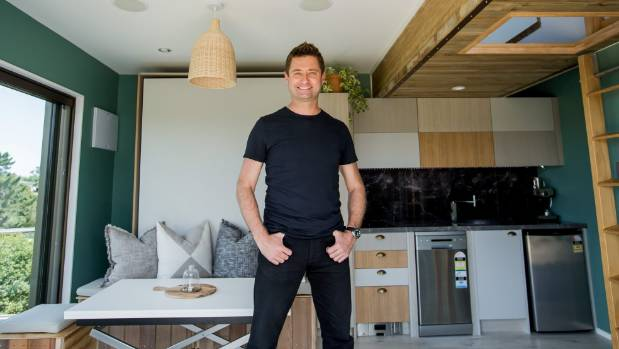 Raglan tiny house is finished, and Amazing Spaces\' George Clarke ...