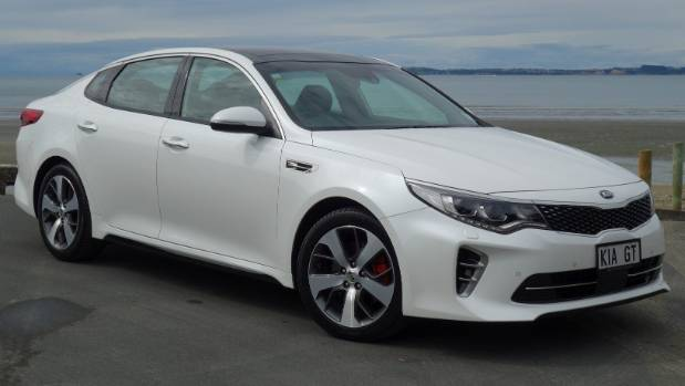 Optima GT looks the part. But what you're mostly paying for is under the bonnet: a 180kW 2.0-litre turbo engine.