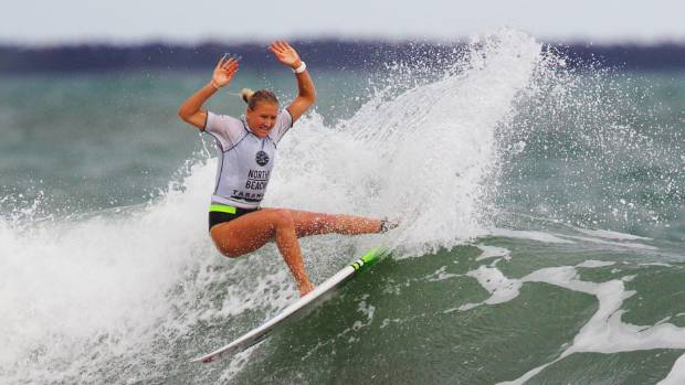 Kiwi surfer Ella Williams has improved on her world placing in 2016.