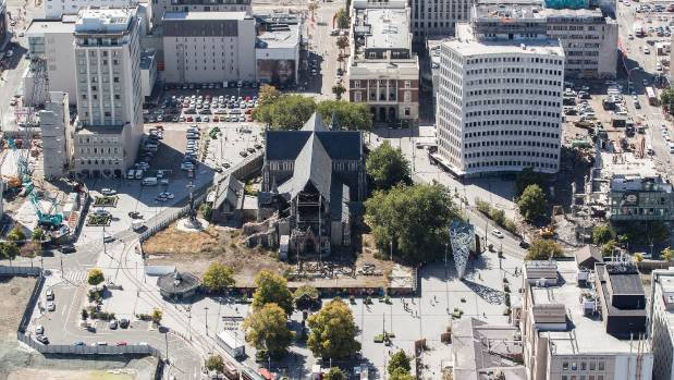Just over $90m, including the church's insurance proceeds of $42m, is available for reinstatement, expected to cost $104m.